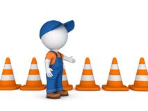 d-small-person-traffic-cones-isolated-white-background-rendered-53173289